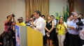 Brazil opposition presidential candidate Aecio Neves - Political campaign Footage