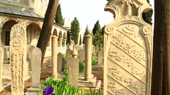 Historic cemeteries - lV Stock Footage