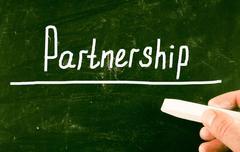 partnership concept - stock photo
