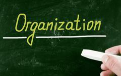 organization concept - stock photo