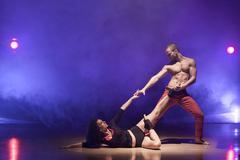 dance passion - stock photo