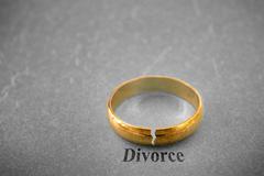 divorce concept - stock photo
