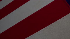 4K US American Flag Extreme Detailed Close Up Stock Footage