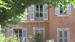 FRENCH WINDOWS, AIX EN PROVENCE, FRANCE Stock Footage