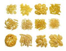 Pasta variation Stock Photos