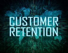 Customer retention Stock Illustration