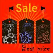 Sale icons theme ΠStock Illustration
