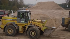 Earth Movers Stock Footage