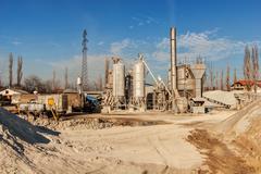 Stock Photo of asphalt plant