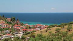 Nea Skioni village, Kassandra peninsula, Chalkidiki, Greece Stock Footage