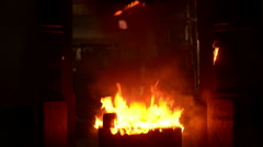 Rise of the steel-hammer Stock Footage