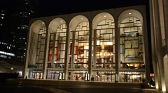 Lincoln Center, New York City Stock Footage