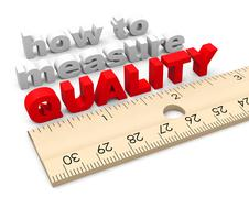 How to Measure Quality Improvement - stock illustration