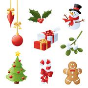 Bumper christmas Stock Illustration
