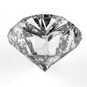 diamonds isolated on white - stock illustration