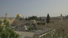 Jerusalem - Old City - 30P - UHD 4K - Flat Stock Footage