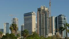 Tel Aviv - Israel - Buildings / Skyscrapers - 30P - UHD 4K Stock Footage