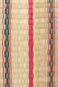 weaves making up a colorful mat texture - stock photo