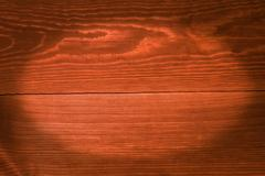 Orange boards, a background with vignette - stock photo