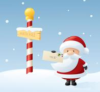 Dear santa Stock Illustration
