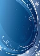 crisp winter - stock illustration