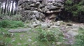 4k Big rocks monument tilt closeup in low mountain range Harz 4k or 4k+ Resolution