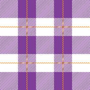 purple seamless tartan plaid - stock illustration
