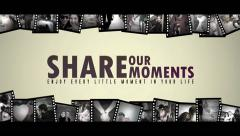 Share The Moments - stock after effects