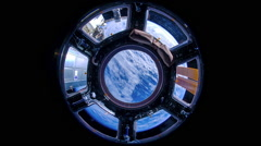 Space Station Dome timelapse Stock Footage