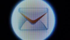 Letter, message, receive a letter Stock Footage