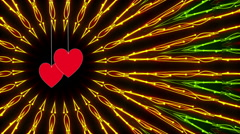 wedding loop background, abstract motion - stock footage