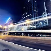 Traffic in hong kong Stock Photos