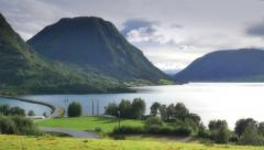Landscape of Norway Stock Footage