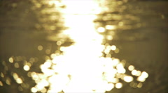 4K: The water surface, 4x SLOW MOTION. Shot with Red Dragon Cinema Camera Stock Footage