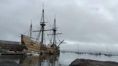 Mayflower II Stock Footage