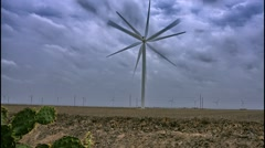 Wind Turbine - Wind Mill Time-Lapse Stock Footage