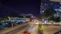 West Campus  of University of Austin, Texas Time-Lapse Stock Footage