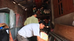 Artisans and water puppetry in Asia Stock Footage