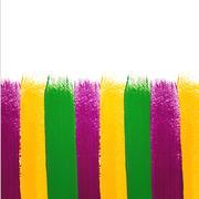 Vector mardi gras watercolor background Piirros