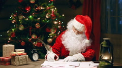 Technological Santa Stock Footage