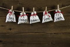 Greeting card for friends, valentine, christmas or birthday. Stock Photos