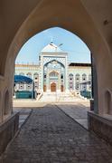 Mosque haji yaqub. tajikistan. dushanbe Stock Photos
