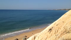 Algarve beach scenario Stock Footage