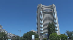 Romania landmark building, luxury hotel residence, five stars location to host Stock Footage