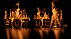 Hot Deal Stock Footage