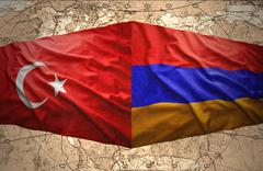 Stock Illustration of armenia and turkey