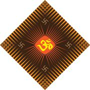Stock Illustration of aum (om) the holy motif