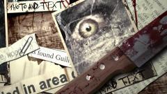 """Intro terror """"Creatures"""" Kuvapankki erikoistehosteet"""