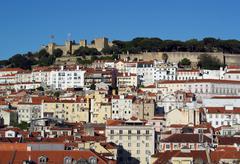 Baixa, lisbon, portugal Stock Photos