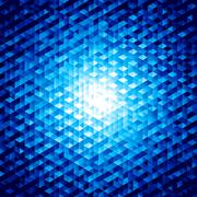 Abstract vector background with hexagons Stock Illustration